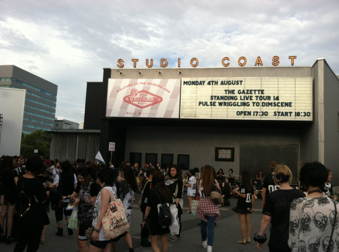 [Live Report] the GazettE – Pulse Wriggling to Dimscene